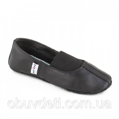 Чешки кожаные черные Matita р.26 (16,5см)