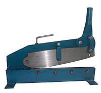 Гильотинные ножницы ручные H-400 для резки металла