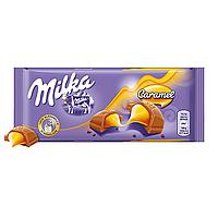 Шоколад MILKA Caramel 100г Карамель