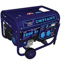 Генератор бензиновый Defiant DGG-2800-DT 2,8 кВт 220 V