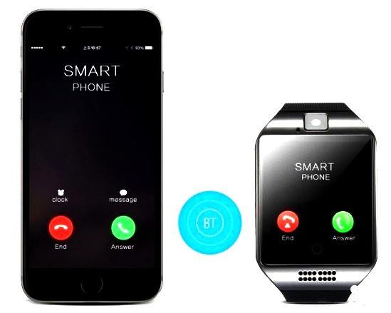 Умные часы наручные телефон Smart Watch Q18