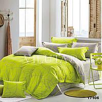 Комплект постельного белья евро Вилюта ранфорс 17106