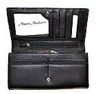 Женский кошелек из натуральной кожи Mauro Maskarro (10x19.5) , фото 4