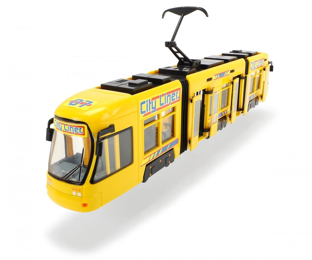 DICKIE Городской трамвай (желтый) 203749005