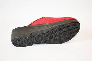 Тапочки женские бордовые Inblu, фото 3
