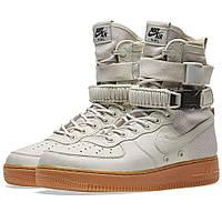 Оригинальные кроссовки Nike W SF Air Force 1 Light Bone