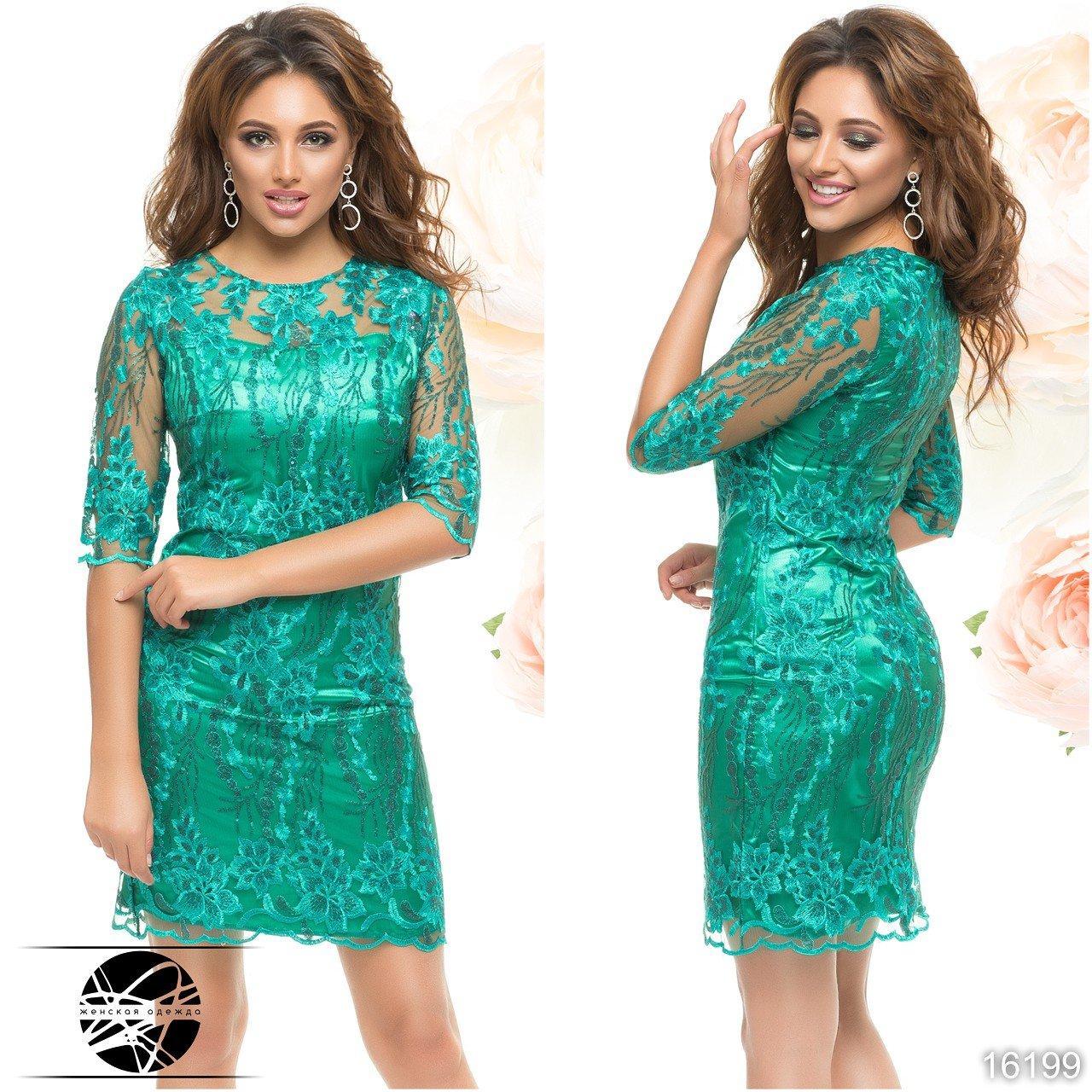 cebf4ac3543087d Женское вечернее платье зеленого цвета из атласной ткани. Модель 16199 -  Irse в Одессе