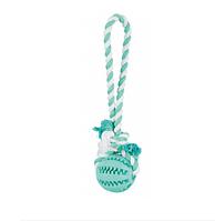 Trixie TX-3299 м'яч на канаті 7см/24см-іграшка для собак