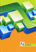 Канцелярская книга А4 96 л.газетка, цветная обложка