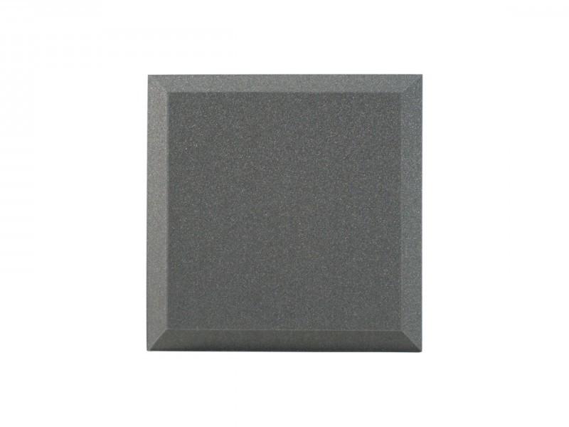 Панель из акустического поролона Ecosound Quadro 50мм, 50х50см цвет черный графит