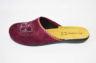 Женские сливовые тапочки Inblu, фото 2