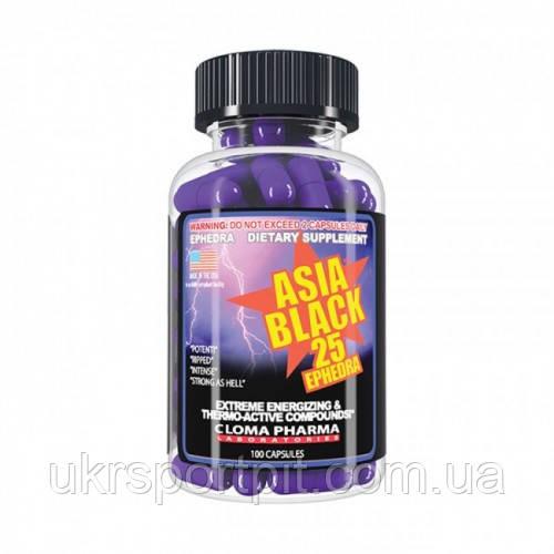 Asia Black - Cloma Pharma - 100 капсул