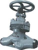 Клапан запорный проходной сальниковый Т-108б Ду50 Ру100