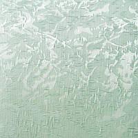 Рулонные шторы Miracle. Тканевые ролеты Миракл (Венеция) Ментоловый 07, 120 см