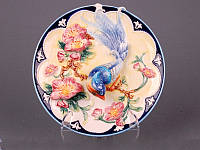 Декоративная тарелка Lefard Птичка в вишневом саду 21 см 59-404
