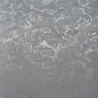 Рулонные шторы Miracle. Тканевые ролеты Миракл (Венеция) Серебристый 09, 112.5 см
