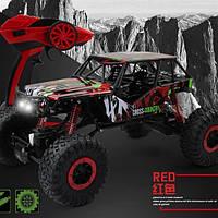 Машина на радиоуправлении красный Rock Crawler HB-P1001