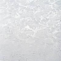Рулонные шторы Miracle Blackout. Тканевые ролеты Миракл Блекаут Белый 01, 42.5 см