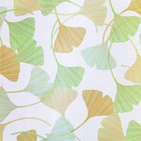 Рулонные шторы Klever. Тканевые ролеты Клевер Желтый, 120 см