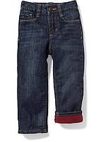 Детские зимние джинсы на флисовой подкладке Old Navy  для мальчика