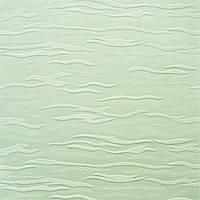 Рулонные шторы Lazur. Тканевые ролеты Лазурь (Ван Гог) Салатовый 2073, 90 см