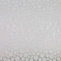 Рулонные шторы Bubble. Тканевые ролеты Баббл Белый, 40 см