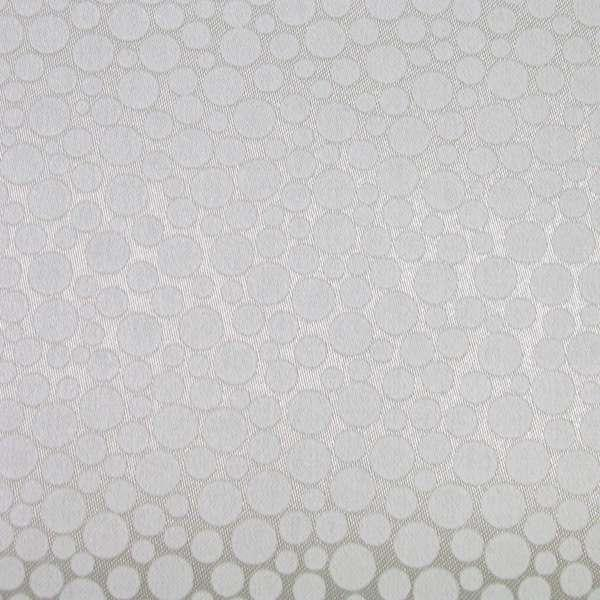 Рулонные шторы Bubble. Тканевые ролеты Баббл Белый, 65 см