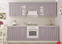 Кухня модульная Amore Classic меланжевый 2600 мм MDF крашенный мат
