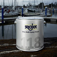 SEAJET 118 грунтовка чистовая эпоксидная защита от осмоса (вздутия), серебро 2,21л