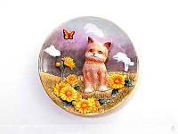 Декоративная тарелка Lefard Котик 20 см 59-341, фото 1