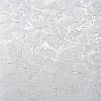 Рулонные шторы Miracle. Тканевые ролеты Миракл (Венеция) Белый 01, 77.5 см