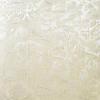 Рулонные шторы Miracle Blackout. Тканевые ролеты Миракл Блекаут Молочный 02, 35 см