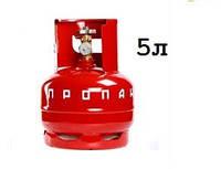 Газовый баллон Novogas 5 литров (Беларусь)