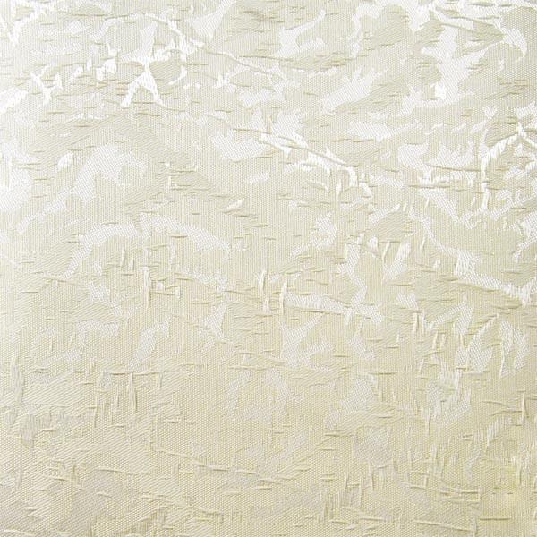 Рулонные шторы Miracle Blackout. Тканевые ролеты Миракл Блекаут Молочный 02, 112.5 см