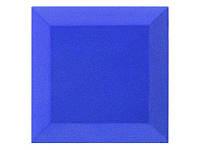 Бархатная акустическая панель из акустического поролона Ecosound Velvet Blue 25х25см 50мм. Цвет синий, фото 1