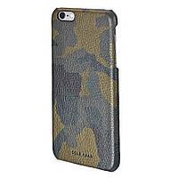 Элитная накладка из натуральной кожи, COLE HAAN CAMO для iPhone 6 Plus / iPhone 6S Plus - хаки (CHRM71009)