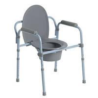 Складной стул-туалет со спинкой премиум Doctor Life