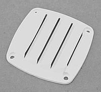 Решётка вентиляционная,белый пластик 76х76MM С82021W
