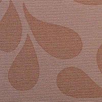 Рулонные шторы Viola. Тканевые ролеты Виола Медный, 37.5 см