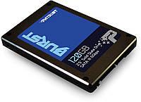 """SSD диск 120 Gb, Patriot Burst, SATA 3, 2.5"""", TLC 3D, 560/540 MB/s (PBU120GS25SSDR), твердотельный накопитель ссд 120 Гб для ноутбука и ПК"""