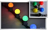 """Гирлянда  """"Belt light""""-(""""Белт лайт"""")- RGRB в комплекте с лампочками 6м"""