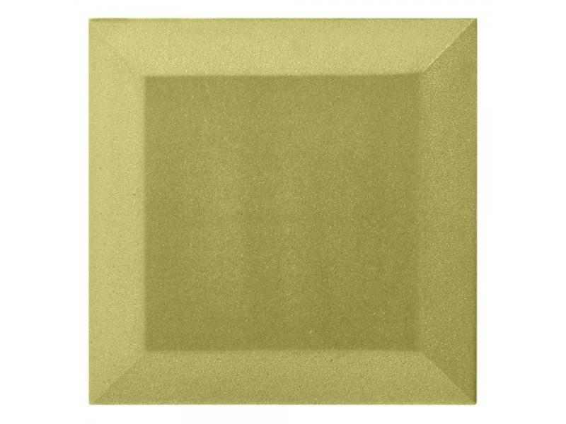 Оксамитова акустична панель з акустичного поролону Ecosound Velvet Light Green 25х25см 50мм.