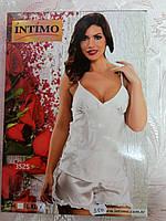 Белый ночной комплект с шортами р. 50 Intimo
