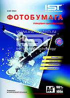 Фотобумага IST, глянцевая, A4, 180 г/м2, 100 л (G180-100A4)
