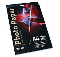 Фотобумага Tecno, глянцевая, A4, 230 г/м2, 50 л, Premium Series