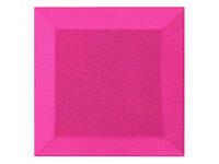 Бархатная акустическая панель из акустического поролона Ecosound Velvet Pink 25х25см 50мм Цвет розовый, фото 1