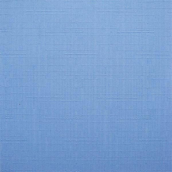 Рулонные шторы Len. Тканевые ролеты Лен Голубой 2074, 122.5 см