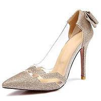 Для женщин Обувь на каблуках Оригинальная обувь Материал на заказ клиента Весна Лето Осень ЗимаСвадьба Для праздника Для вечеринки / 05496232