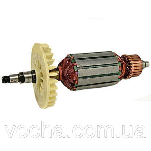 Якорь (ротор) на болгарку УШМ Югра 150/1800