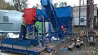 Линия фасовка зерновых в прошивной мешок 50 кг, 20 тонн в час.